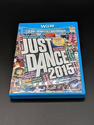 Just Dance 2015 Nintendo Wii U LN perfect condition COMPLETE!