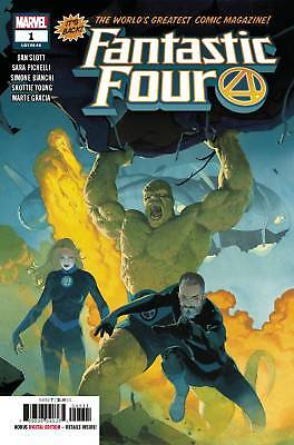 Fantastic Four #1 2018 MARVEL Comics Main Ribic Cover NM