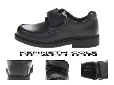 Kenneth Cole Reaction Youth Chalk it Up Black With Strap Shoes For Boys On SALE$