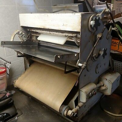 Commercial Acme Bench Dough Roller Model # 11 Pizza Dough Roller Sheeter Machine