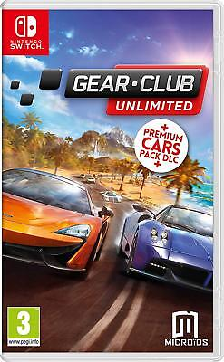 Gear Club Unlimited + DLC Nintendo Switch Game | BRAND NEW & SEALED