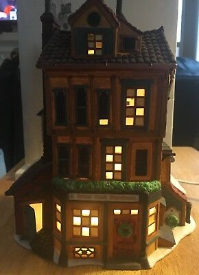 Dept 56 DICKENS VILLAGE Christmas J LYTES COAL MERCHANT Lighted Building House