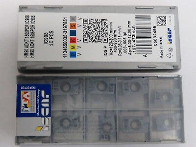 10 ISCAR ADKT 1505PDR  ADKT1505PDR Grade IC908 Carbide Milling inserts