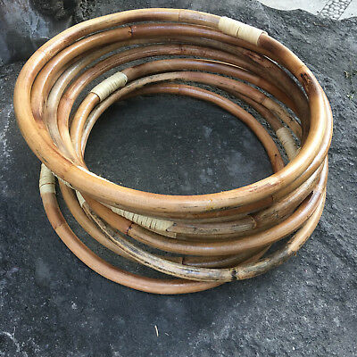 45cm RATTAN Hoop - Weddings/Florist/Macrame/Ring/DIY/Bamboo/Cane/Display/Flowers