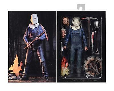 "NECA Friday The 13th Part 2 Movie JASON VOORHEES Ultimate 7"" Scale Action Figure"