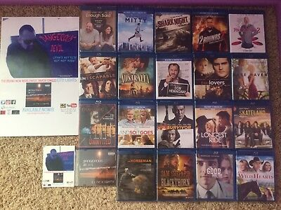Blu Ray 10 Movie Lot, New & Sealed Assorted (With bonuses!)