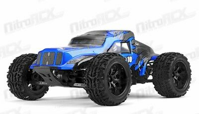 ExceedRc Legion 1/10 Scale Monster Brushed Truck Ready to Run 2.4ghz (DD Blue)