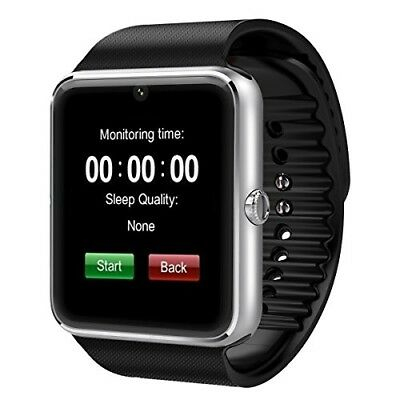 Padgene Fashion NFC Bluetooth GSM Smart Watch with Camera for Samsung S5 Note