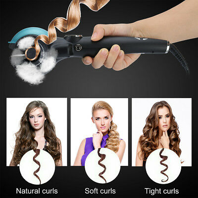 Hair Curler, Curling Iron, Professional Automatic Spray Curl Machine, LED Displa