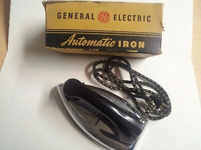 Vintage GE Automatic IRON w/BOX Model 119F32