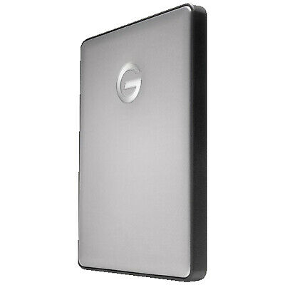 G-TECHNOLOGY G|DRIVE®  mobile USB-C™, 1 TB, Space Grey, 1 TB HDD, 2.5 Zoll, exte
