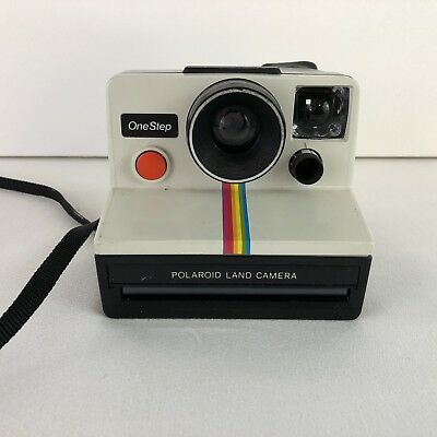 Poloroid One Step Camera