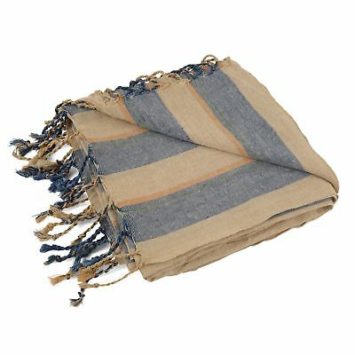 Sea Bluez Linen Peştemal | Lightweight Large Boutique Turkish Towel Beach & Bath