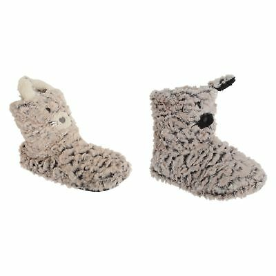 Womens/Ladies Cat Design Boot Slippers (SL552)