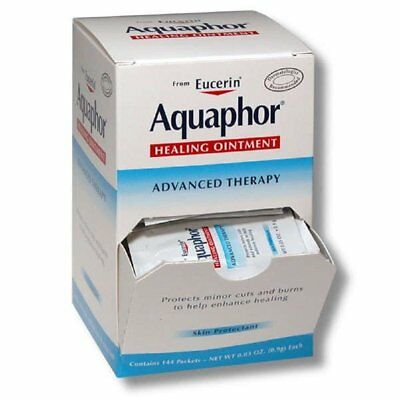 Aquaphor Healing Ointment Advanced Therapy Skin Protectant Box of 144 Packets