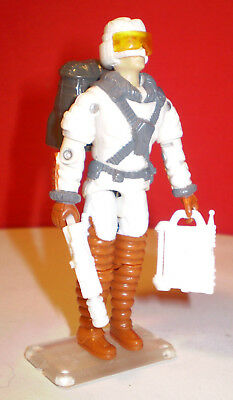 1990 GI JOE COLD FRONT AVALANCHE VEHICLE DRIVER  POLAR TROOPER 100% cobra ARAH