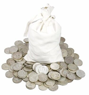 $100 FV 90% Silver US Coins 1878-1964 $0.10-$1 Mixed