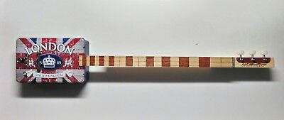 London Cigar Box Guitar Slide delta blues Robert Matteacci Liutery