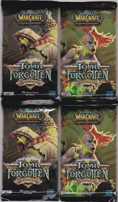WoW TCG 4 x Tomb of the Forgotten Booster Packs - World of Warcraft - Loot?