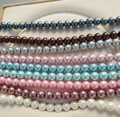"""Wholesale Natural 8mm 10mm South Sea Shell Pearl Loose Beads AAA 15"""""""
