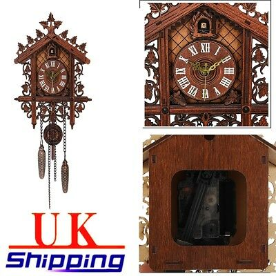 Modern House Art Cuckoo Vintage European Wall decor Hanging Clock Large Clock