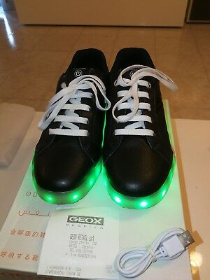 7f70df1d002 B GS Schuhe LED Low Cut Sneaker grey orange J745PB0BCBUC1361 Kindermode,  Schuhe & Access.