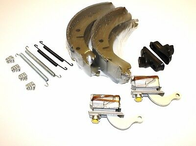 Set Of Rear Brake Shoes,spring & Wheel Cylinders For The Mga (Except Twin Cam)