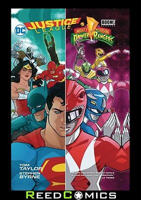 JUSTICE LEAGUE POWER RANGERS GRAPHIC NOVEL New Paperback Collects 6 Part Series