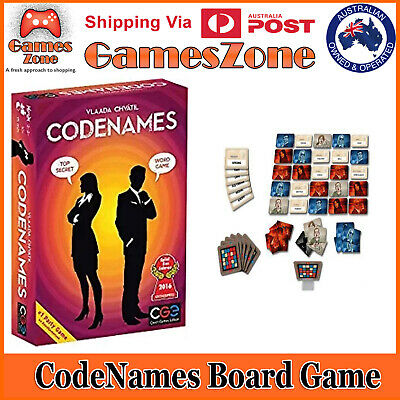 Codenames Board Game The Two Player Word Deduction Game