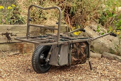 Fox Explorer Deluxe Barrow Camo Bags NEW *TT EXCLUSIVE* Fishing Barrow - CTR015