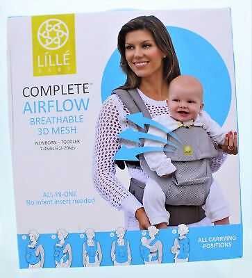 Lille Baby Complete AirFlow Baby Carrier 7-45 LBS