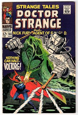 Marvel Comics 7.0 FN/VFn- 166 STRANGE TALES UNCLE STAN COLLECTION DR STRANGE
