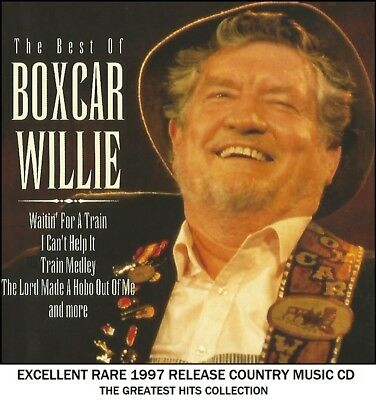 Boxcar Willie The Very Best Greatest Hits Collection RARE 1997 Country Music CD