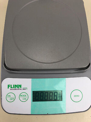 a40e1046901f WORKING * FLINN Scientific Balance digital scale 210 x .01g USA ...