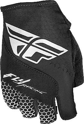 Fly Racing Fingerless Glove All Colors/Sizes Black/White X-Small 350-086007