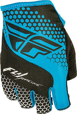 Fly Racing Fingerless Glove All Colors/Sizes Blue/Black Small 350-086108