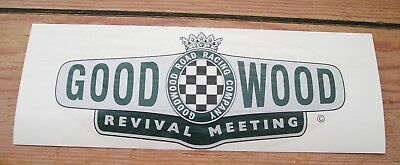 GOODWOOD REVIVAL MEETING Race//Rally Decals x2