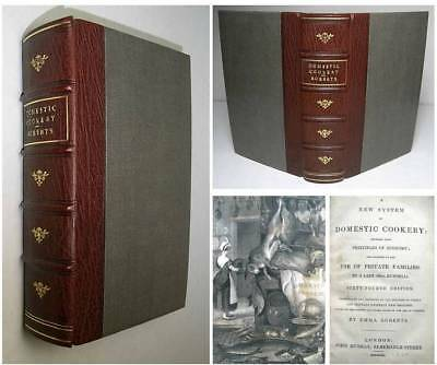 1840 COOKERY BOOK Recipes Cooking CURRY Indian Food English Wines Curries Meat