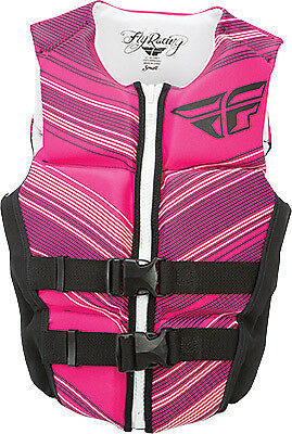 FLY RACING LADIES NEOPRENE VEST PINK/BLACM Pink/Black Medium 142424-105-830-16