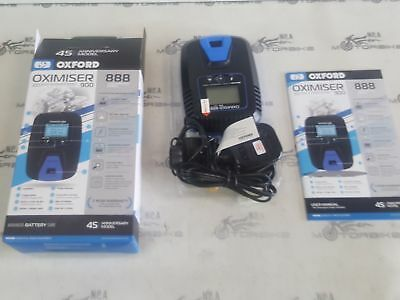 TRIUMPH THRUXTON OXFORD OXIMISER 900 MOTORCYCLE 12V BATTERY CHARGER EL572