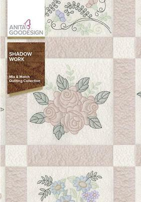 Shadow Work       Mix and Match Quilting Collection     Anita Goodesign    NEW