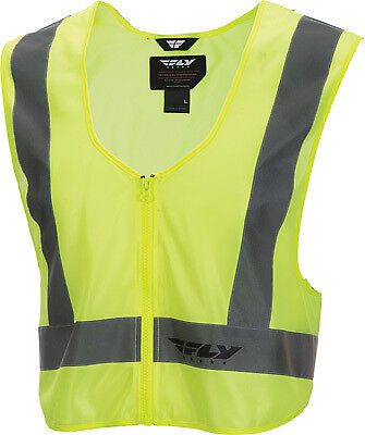 Fly Racing Safety Vest Hi-Vis Yellow Large - X-Large #6179 478-602~1 478-6021