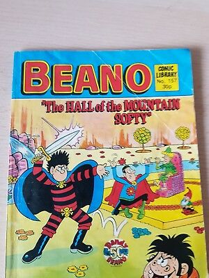 The Beano Comic Library No 157. Poor  condition ..see pic freepost