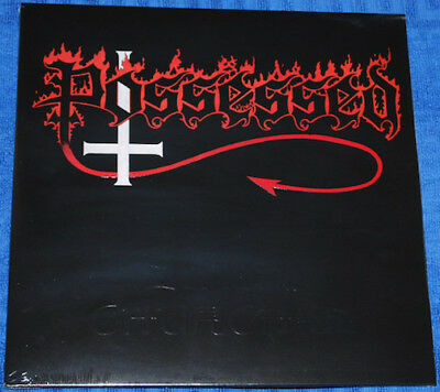 Possessed ‎– Seven Churches LP Ltd White Splatter Vinyl / Embossed Cvr (2015)