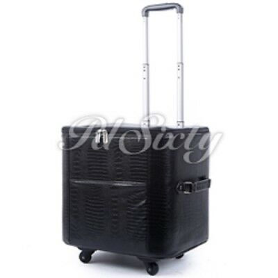 Hard Sided Rolling Sewing Machine Case for Sergers