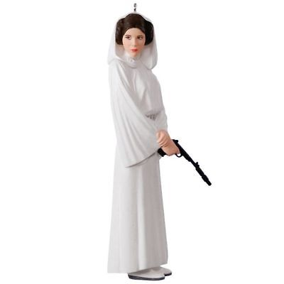 2017 Hallmark Keepsake Star Wars  Princess Leia Organa Ornament ~ NIB (2018)