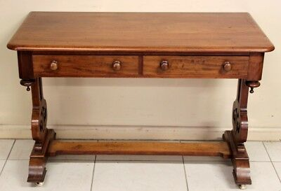 Antique Australian Colonial Cedar Sofa Hall Table Or Desk Circa 1880