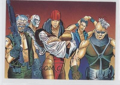 1992 Comic Images Wolverine: From Then 'Til Now II #55 Reavers Card 1k3