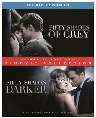 Fifty Shades: 2-Movie Collection (Blu-ray/DVD, 2017, 2-Disc Set) - NO DIGITAL