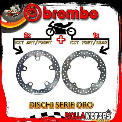 Brdisc-1082 Kit Dischi Freno Brembo Honda Crosstourer Dct Travel Edition 2012-20